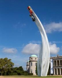 Gerry Judah Sends Mazda Race Cars Sky