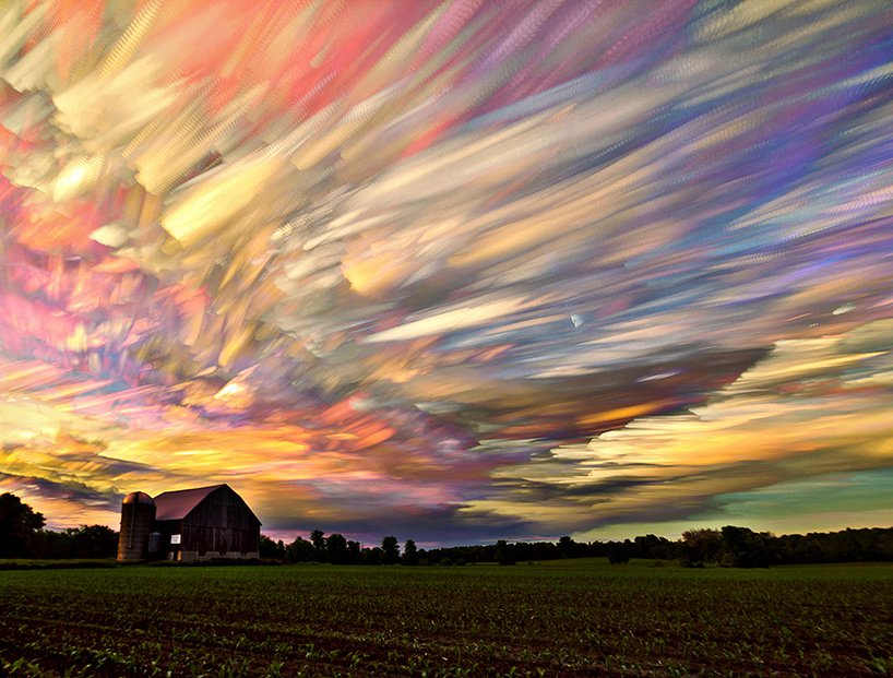 time-stacked photos by matt molloy look like impressionist paintings