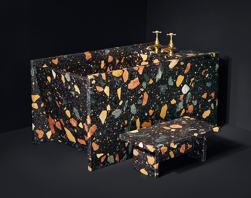 dzek presents marmoreal bathroom furniture by max lamb