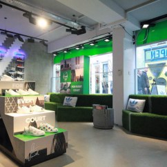 Chair Design Studio Nichols And Stone Rocking Xag Transforms Adidas' London Flagship For Stan Smith Campaign