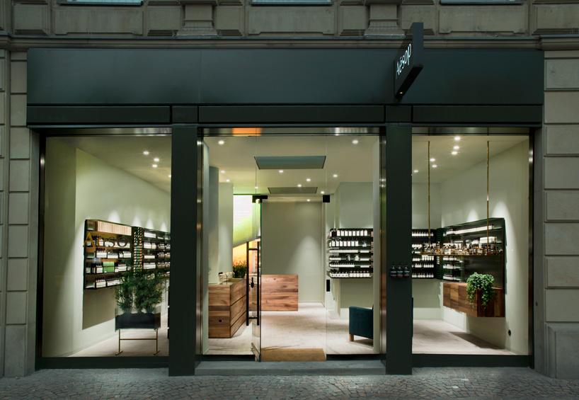 philipp mainzer develops interiors for aesops frankfurt store