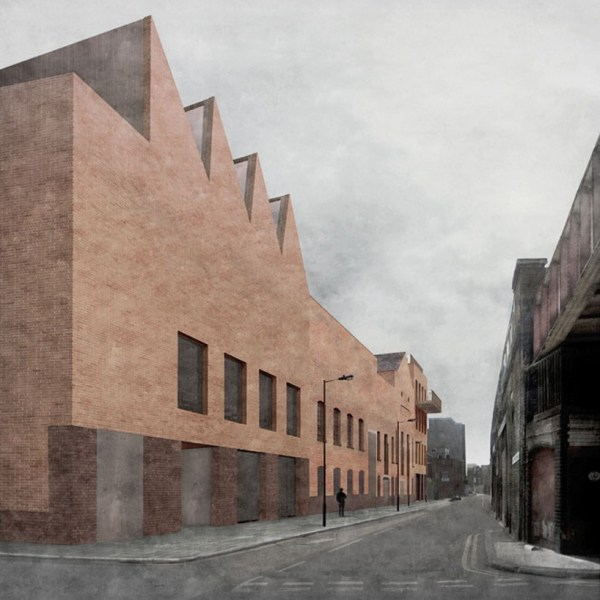 Caruso St. John Street Newport Gallery