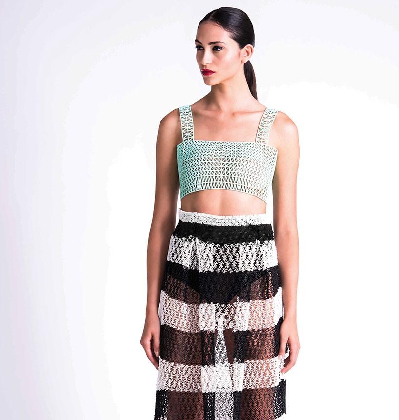 danit peleg 3D prints entire graduate fashion collection