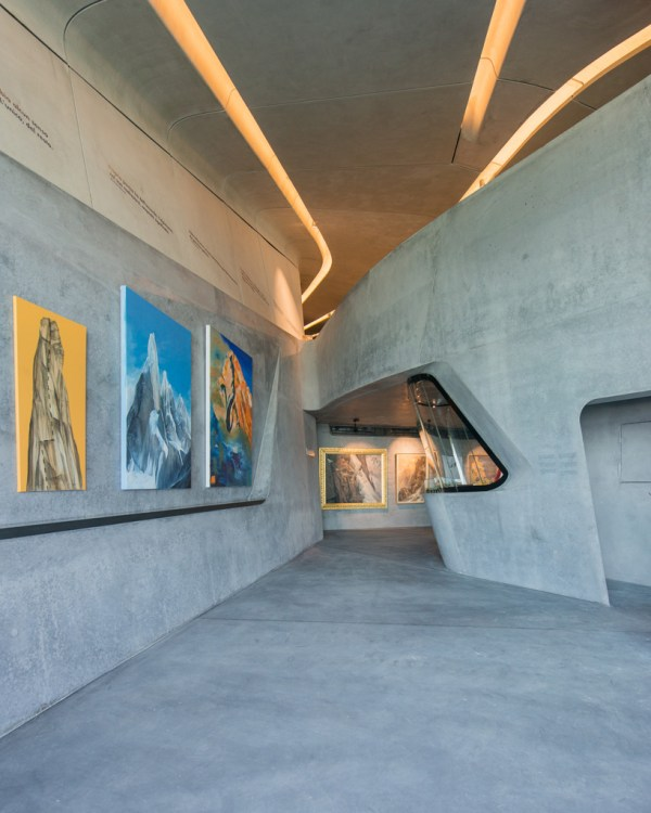 Zaha Hadid Completes Messner Mountain Museum