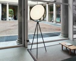 jasper morrison&39;s flat disc superloon lamp for flos is ...