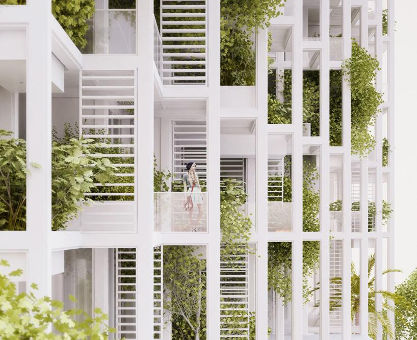 penda vijayawada garden estate pooja crafted homes india designboom