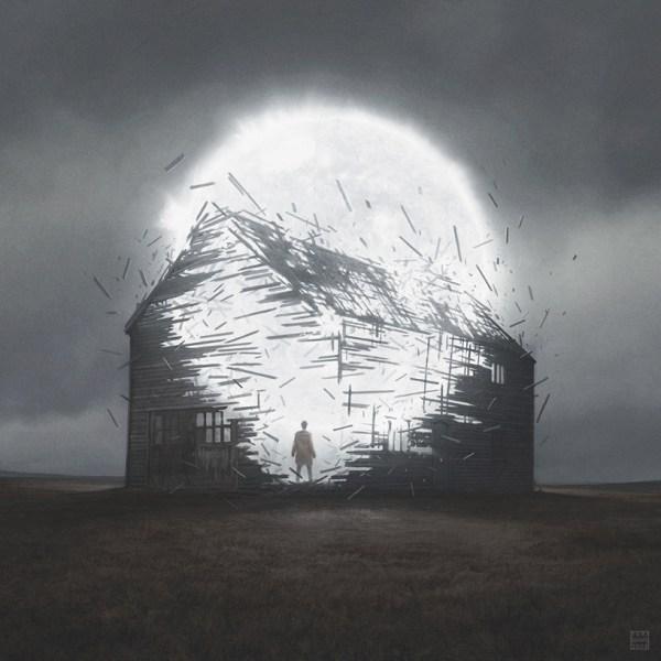 Yuri Shwedoff Composes Dramatic Digital Landscapes With