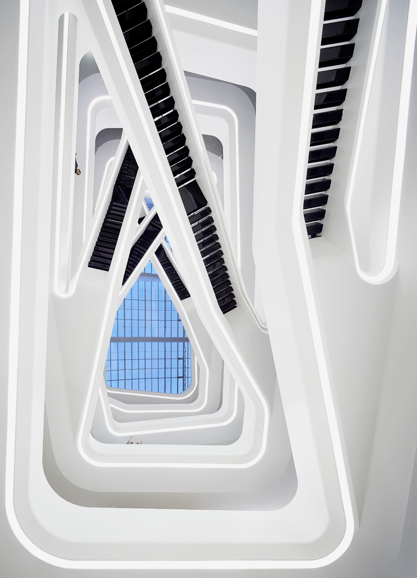 zaha hadid dominion office building in moscow