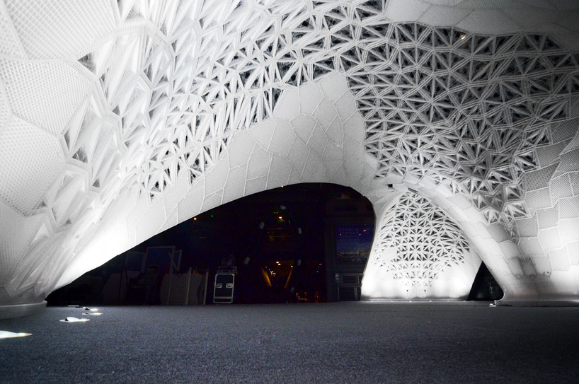 VULCAN the worlds largest 3Dprinted architectural pavilion