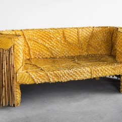 Chair Experimental Design Wicker High Back Dining Friedman Benda Presents Artisanal Living Room By The Campana Brothers