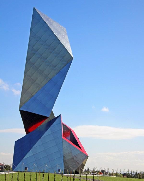 Daniel Libeskind Clads Faceted Sculpture With Casalgrande