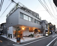 naka architects' studio merges apartments, office and ...