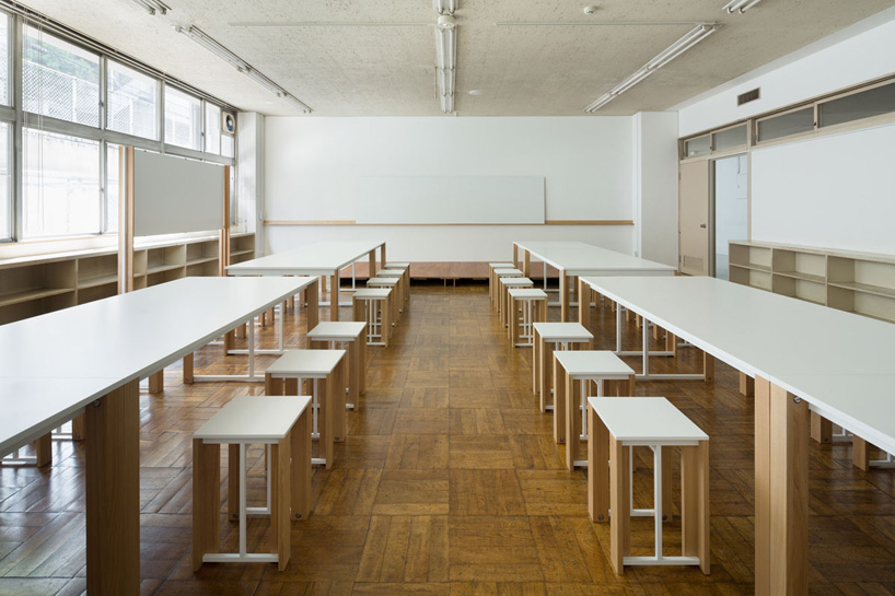 schemata architects creates classroom influenced furniture