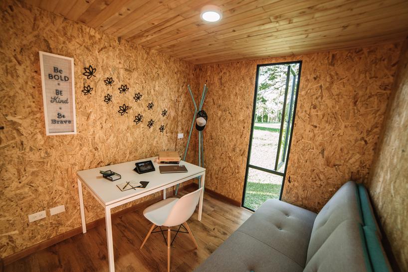 Colectivo Creativo Clads VIMOB Modular Home In Textural