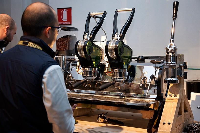 espresso machine concept designed by la marzocco offers