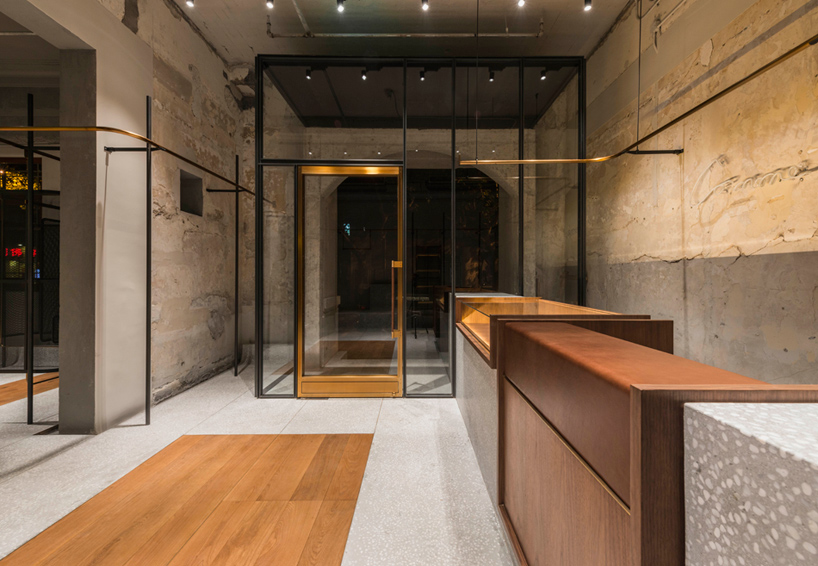 neri  hu outfits flagship store for comme moi in shanghai