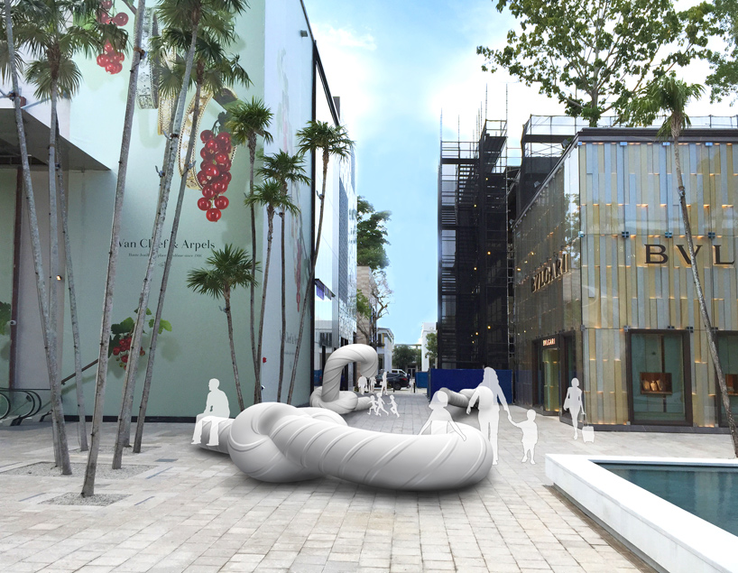 holiday by snarkitecture at the miami design district