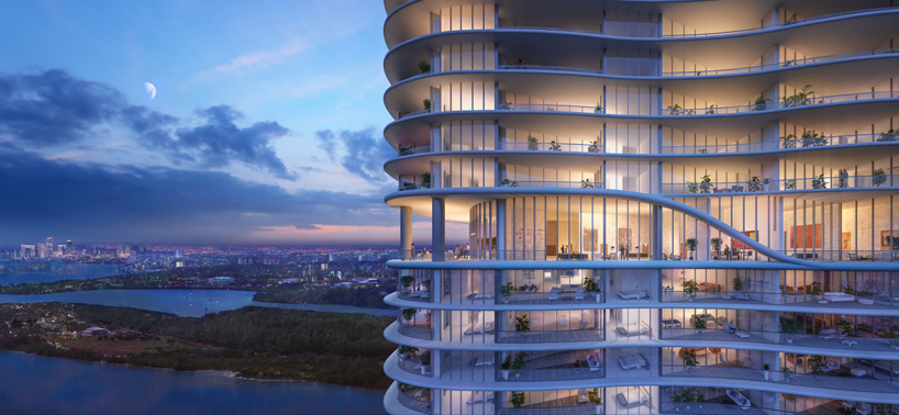 ritzcarlton residences at sunny isles beach by arquitectonica