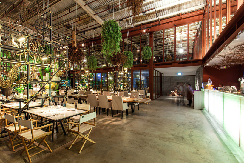 hypothesis converts tractor warehouse into restaurant