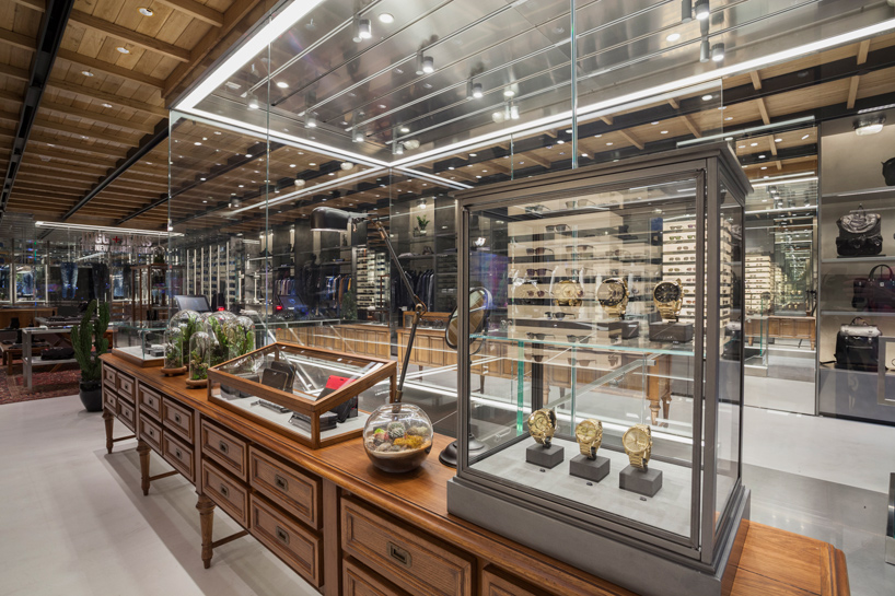 new york diesel store by wonderwall  masamichi katayama