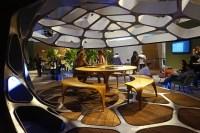 zaha hadid volu, dining pavilion at design miami/