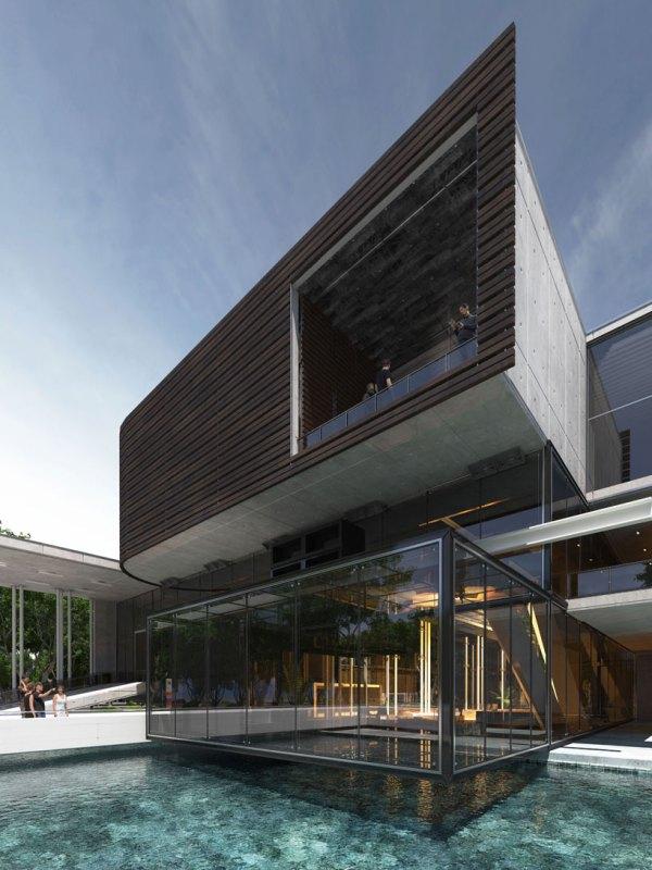 Urban Office Architecture' Church Concrete Glass