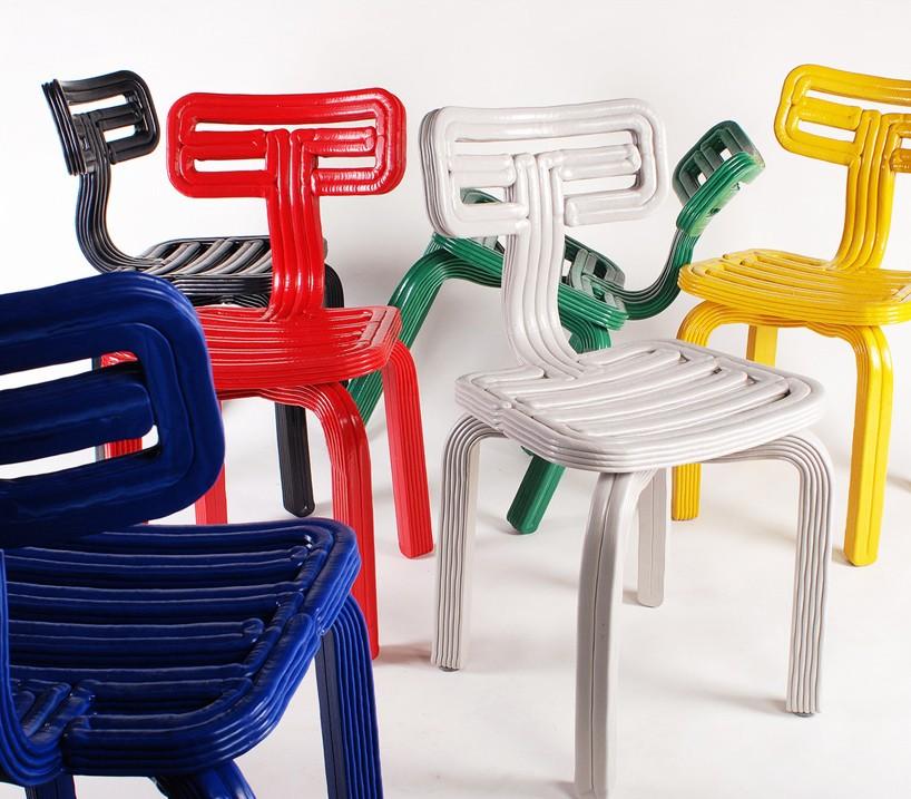 dirk vander kooijs chubby  RVR synthetic chairs look