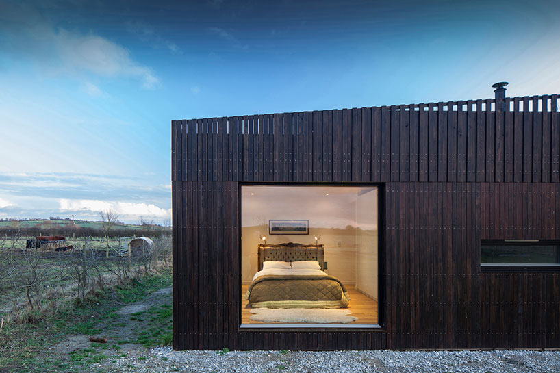 IPT Architects Clads Howe Farm Residence In Charred Timber