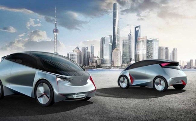 Icona Designs Electric Compact Neo Concept For Overcrowded