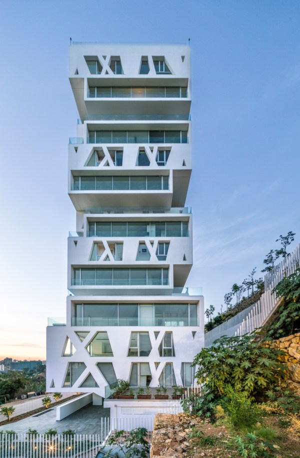 Orange Architects Completes Stacked Residential Tower