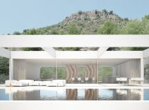 ramon esteve embeds monolithic quarry house into hillside ...
