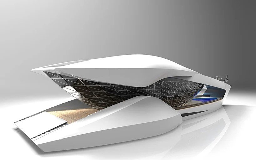 Sea Level Designs CF8 Luxury Yacht Concept