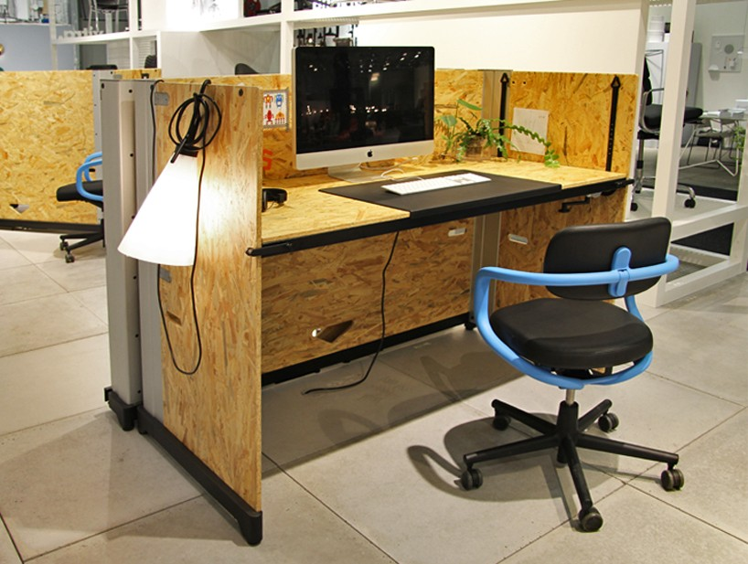 desk chair york rattan chairs indoor nz konstantin grcic's osb hack table for vitra created offices