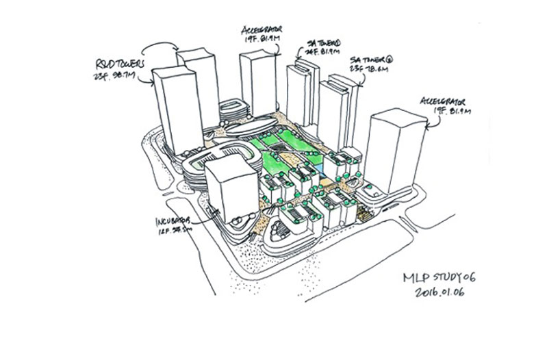 Aedas wins competition to develop vast hi-tech innovation