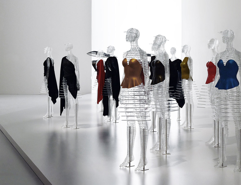 Tokujin Yoshioka Crafts Transparent Body Installation For