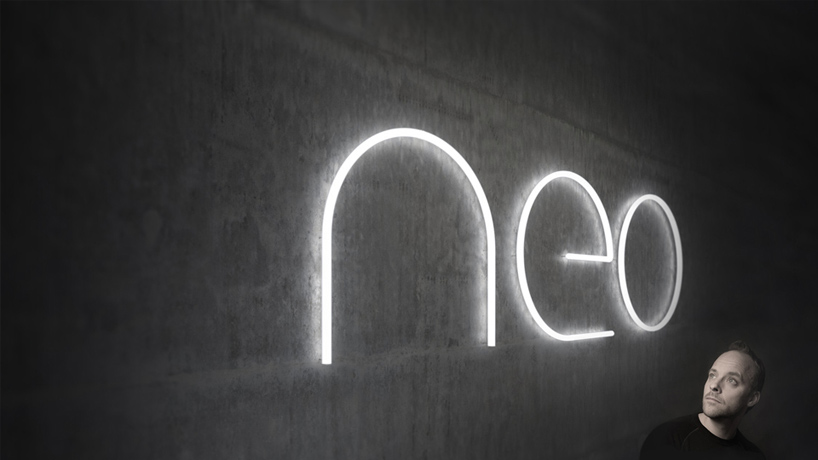 BIG and artemide create the alphabet lights