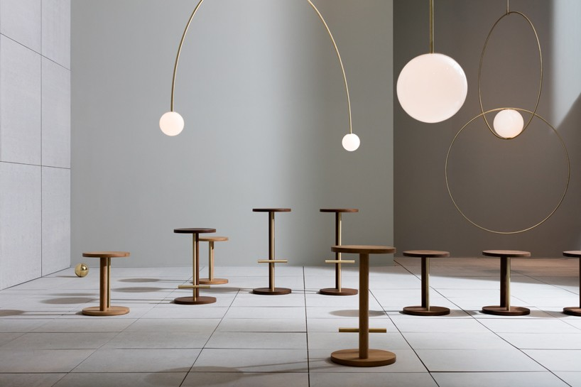 lounge chair modern rolling shower commode double dream of spring installation by michael anastassiades for herman miller