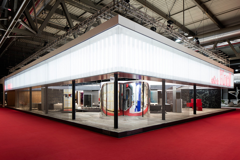 OMA assembles this is knoll pavilion at salone del mobile