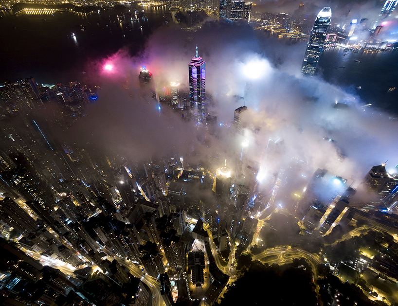 Victoria Falls Wallpaper Andy Yeung S Drone Photos Rise Above Hong Kong At Night To