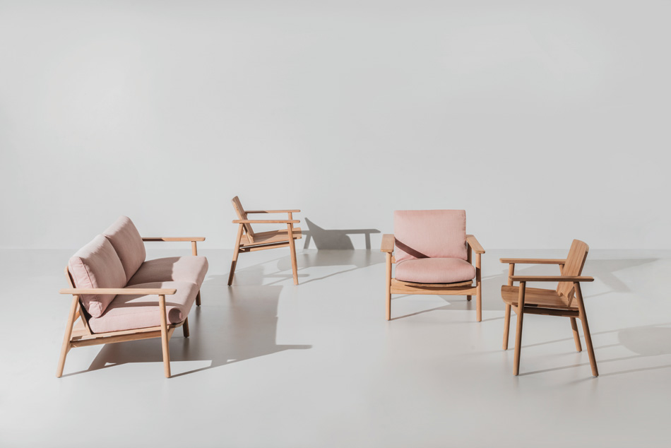 jasper morrison characterizes riva collection for kettal