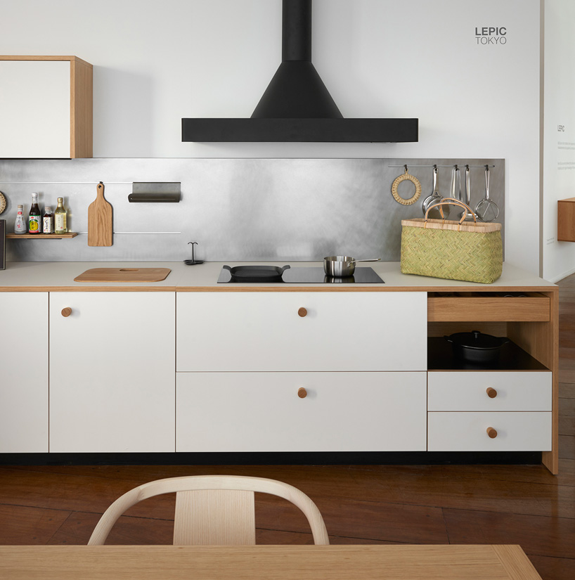 jasper morrison unveils first kitchen design with LEPIC