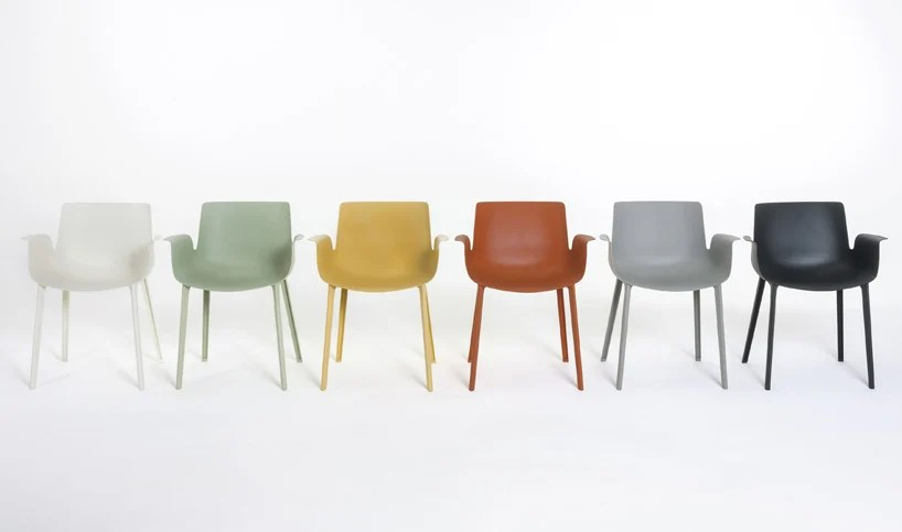 design chair kartell christopher knight home leather recliner club piero lissoni's lightweight piuma for uses material found in cars and planes