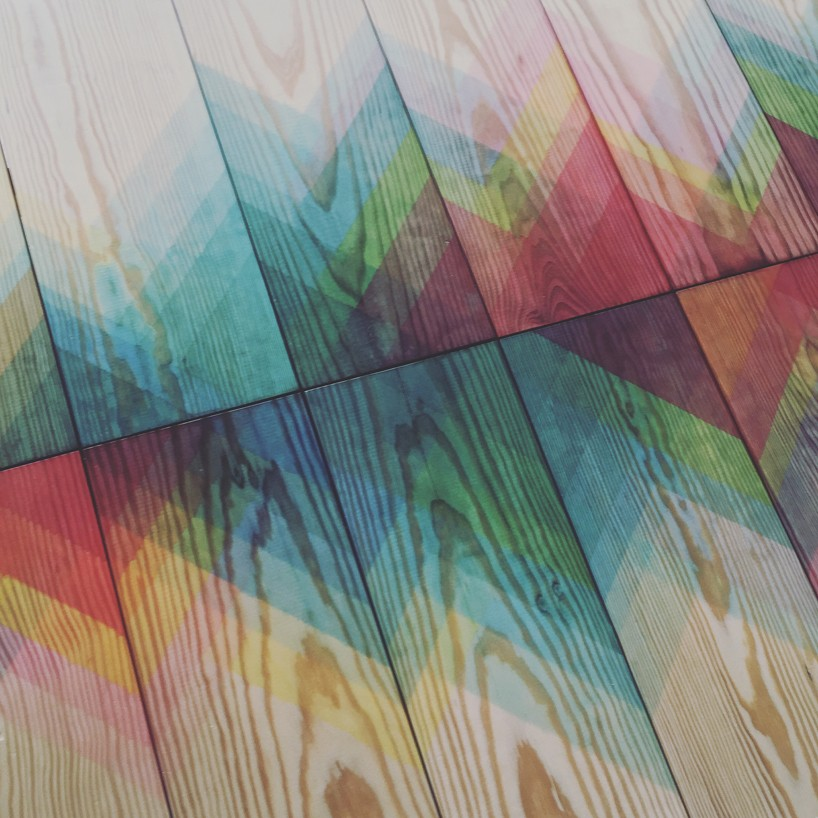 raw edges exhibits herringbones project for 5vie artdesign