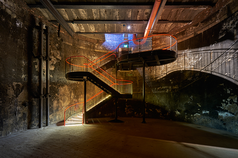 tate harmer transforms part of brunels thames tunnel in