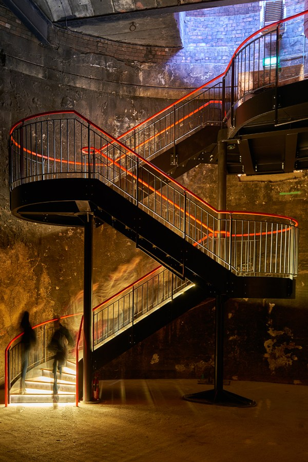 Tate Harmer Transforms Part Of Brunel' Thames Tunnel In London