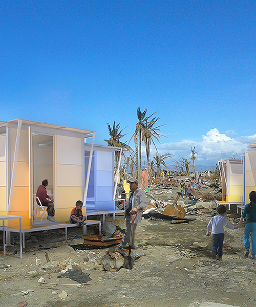 WYTO architects flatpack disaster shelter for southeast