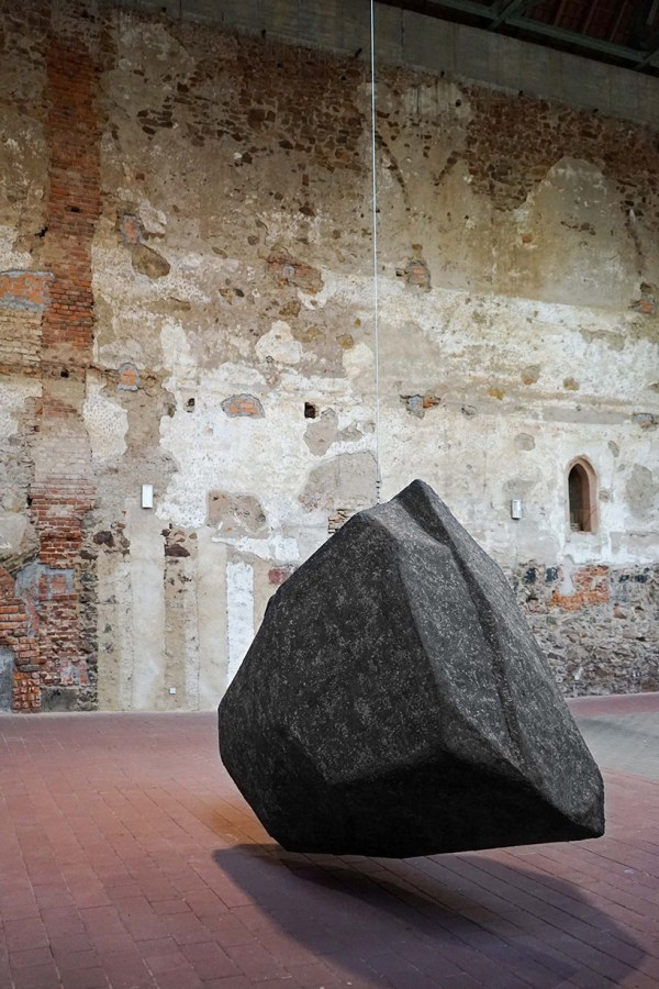 Borgman Lenk Hangs 'boulder' Monastery
