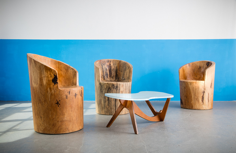 R  company presents rare furniture pieces by jose zanine