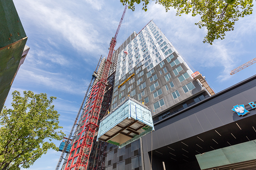 SHoP tops out worlds tallest modular building in brooklyn
