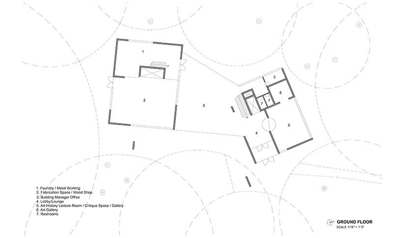 steven holl designs new visual arts building for franklin